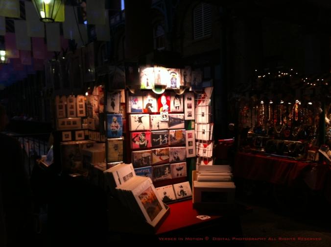 Art Display Covent Garden