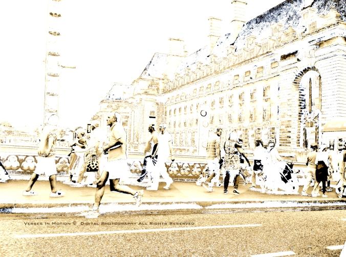 London Eye, running
